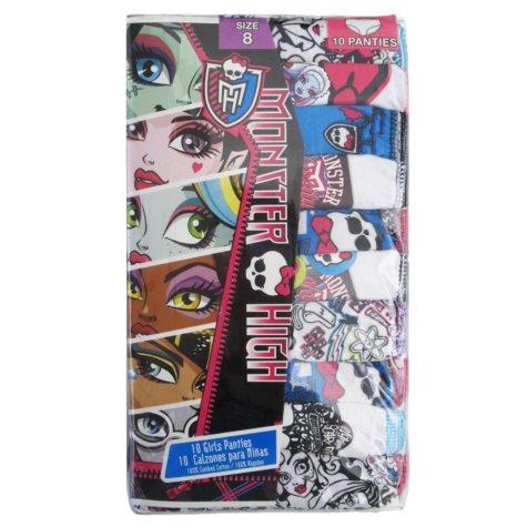 Monster High Underwear - 10 pk.