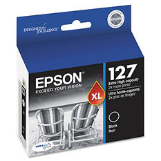 Epson - T127120 (127) Extra High-Yield Ink - Black