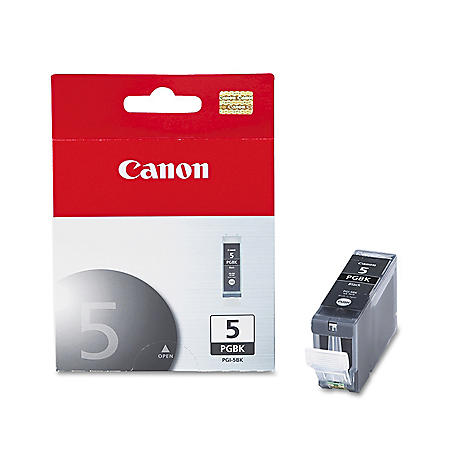 Canon PGI-5BK Ink Tank Cartridge, Black