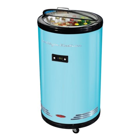 Retro Beverage Party Cooler - Various Colors