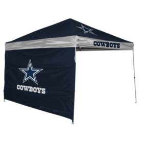 online store 23839 44e4f NFL Dallas Cowboys 9' x 9' Canopy with Wall - Sam's Club