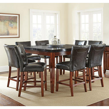 Scott Counter Height Table And 8 Chairs Dining Set Sam 39 S Club