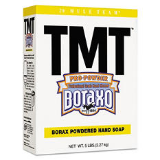 Boraxo - TMT Powdered Hand Soap, Unscented Powder, 5lb Box -  10/Carton