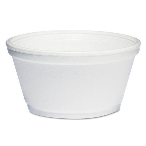 Dart Foam Bowls, 8 oz. (1,000 ct.)
