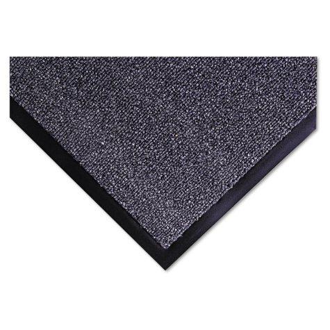 Crown - Walk-A-Way Indoor Wiper Mat, Olefin, 36 x 60 -  Gray