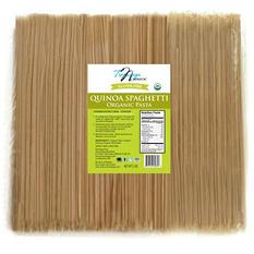 Tresomega Nutrition Organic Quinoa Pasta, Spaghetti (5 lb. Bag)
