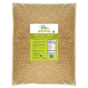 Tresomega Nutrition Organic Quinoa Pasta, Orzo (5 lb.)