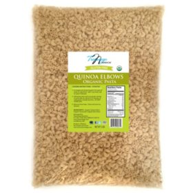 Tresomega Nutrition Organic Quinoa Pasta, Elbow (5 lbs.)