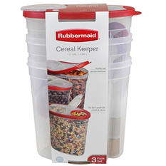 Rubbermaid Cereal Keeper (3 Pk, Assorted Colors)
