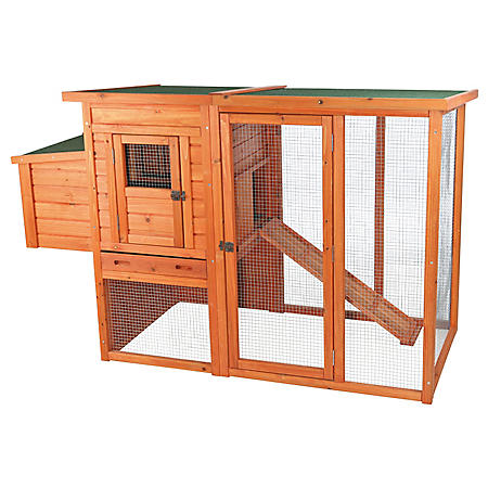 "Trixie Chicken Coop with Outdoor Run (66.75"" x 30.25"" x 41.25"")"