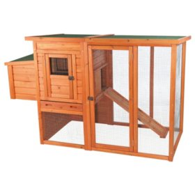"Trixie Chicken Coop with Outdoor Run (66.75"" x 30.25"" x 41.25"")"