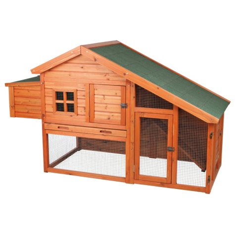 "Trixie Chicken Coop with a View (72"" x 31.5"" x 42"")"