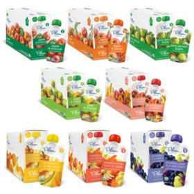 Plum Organics Stage 2 Organic Baby Food - Pick 3 Bundle