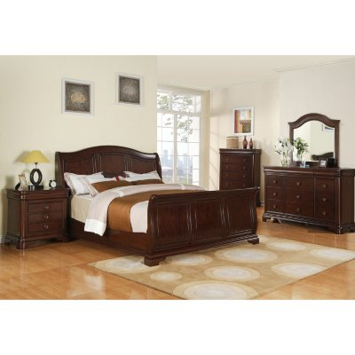 $1999.00 Conley 6 Piece King Sleigh Bedroom Set with Traditional ...