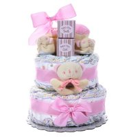 Two-Tier Diaper Cake (Select Color)