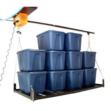 Garage Gator - Motorized Storage Hoist and Platform Accessory