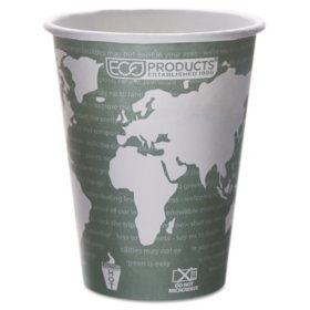 Eco-Products Hot Paper Cups, 12 oz. (1,000 ct.)