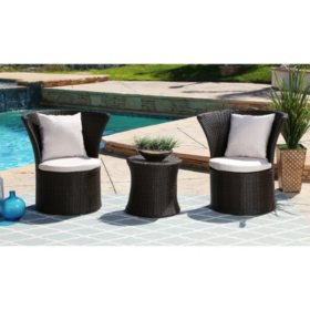 Ella 3-Piece Outdoor Bistro Set