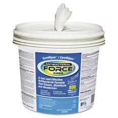 Care Wipes Antibacterial Plus, 2XL, White, 2 Buckets (800ct.)