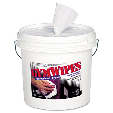 Antibacterial Gym Wipes, Unscented, 700/Bucket (2ct.)