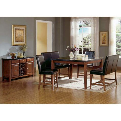 Mattoni Counter Height Dining Collection - 5 pcs.