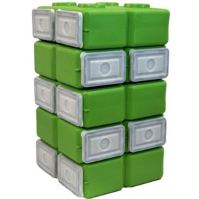 Foodbrick Stackable Storage Container (3.5 gal., 10 pk.)