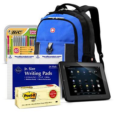 Vizio Tablet and Class Supplies Bundle