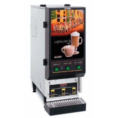 Bunn FMD-3 Fresh Mix Hot Drink Dispenser with 3 Hoppers