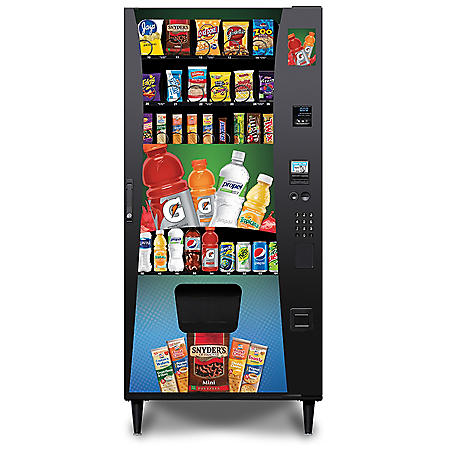 Selectivend Advantage Plus ADA Compliant Combo Vending Machine