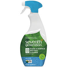 Seventh Generation Free & Clear Natural Glass & Surface Cleaner - 32 oz.