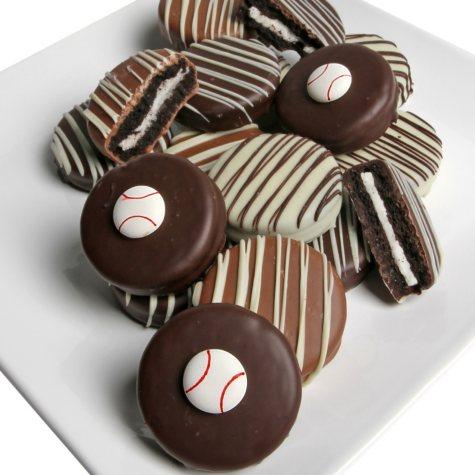 Baseball Chocolate-Covered Oreo Cookies (12 pc.)