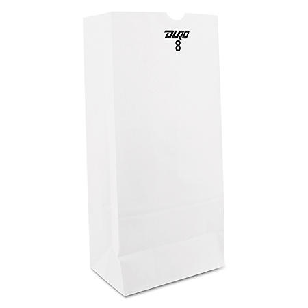 #8 White Paper Bags (500 ct.)