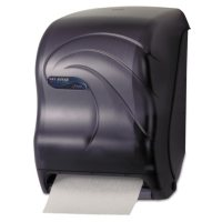 "San Jamar Electronic Touchless Roll Towel Dispenser, 11.75"" x 9"" x 15.5"", Black Pearl"