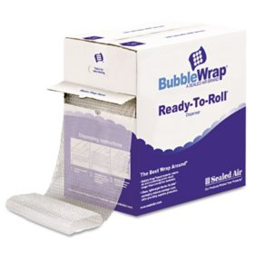 "Sealed Air Bubble Wrap - Cushion Bubble Roll - 12"" x 65'"