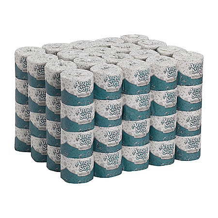 Angel Soft Professional Series 2-Ply Toilet Paper, 450 Sheets, 80 Rolls (16880)