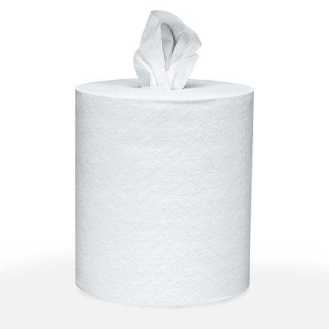 Scott - Roll-Control Center-Pull Towels, 8 x 12, White, 700/Roll -  6 Rolls/Carton
