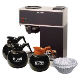 BUNN VPR Small Office Coffee Maker Package with Decanters and Filters
