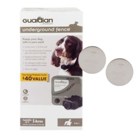 Guardian by PetSafe Underground Fence System with 2 Replacement Batteries