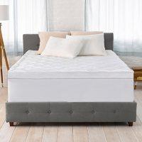 """Serta 4"""" Pillow-Top and Memory Foam Mattress Topper"""