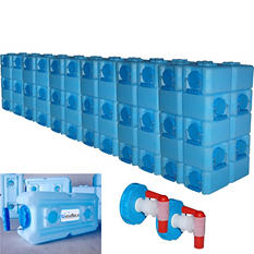 WaterBrick Storage Container (3.5 gallon, 60 pk.)