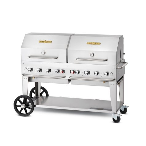 """Elite Package 60"""" Stainless Steel Propane Gas Grill"""
