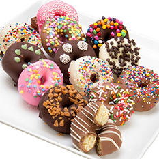 Ultimate Chocolate Covered Mini Donuts (12 pc.)