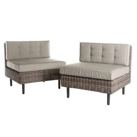 Aimee Outdoor Chairs, 2 Pack