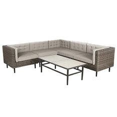 Aimee 6-Piece Outdoor Sectional
