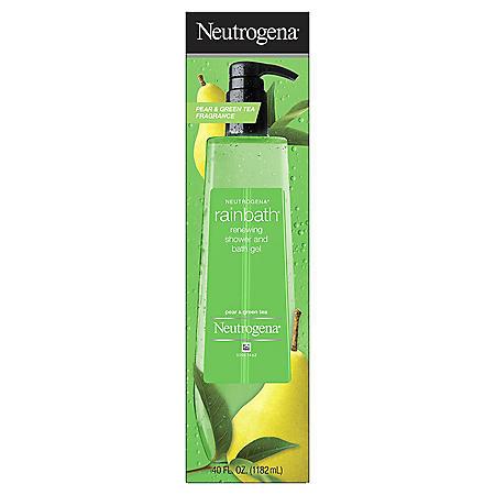 Neutrogena Rainbath Refreshing Shower Gel, Pear & Green Tea (40 oz.)