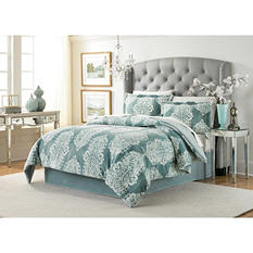 Lenox Velvet Plush 3-Piece Comforter Set (Assorted Colors and Sizes)