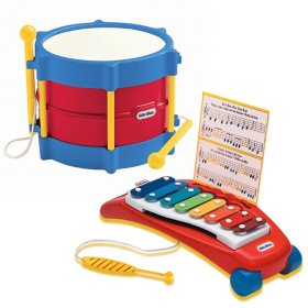 Little Tikes Drum & Xylophone