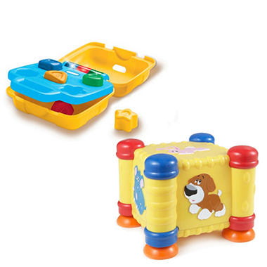 Little Tikes Discover Sounds Motion Cube & Tool Box