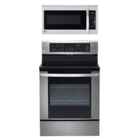 LG 2pc Kitchen Bundle in Stainless Steel