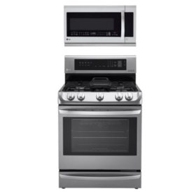 LG 2pc Cooking Bundle in Stainless Steel